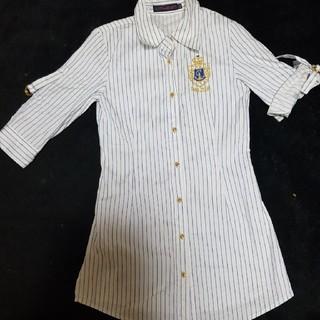 ロニィ(RONI)の美品Roni Yシャツ サイズSM(ブラウス)