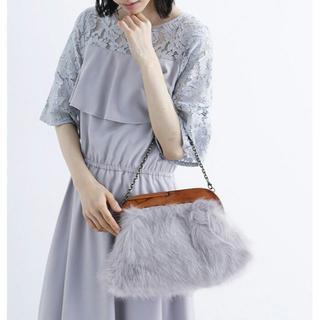 メルロー(merlot)のもこもこバッグ ハンドバッグ ショルダーバッグ クラッチバッグ チェーンバッグ(ハンドバッグ)