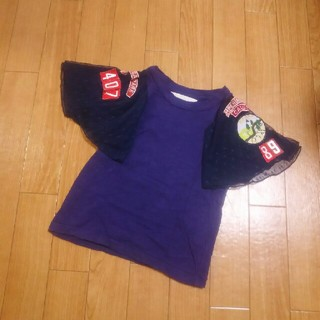ゴートゥーハリウッド(GO TO HOLLYWOOD)のゴートゥーハリウッドのチュールワッペンT(Tシャツ/カットソー)