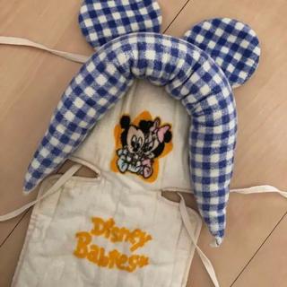 ディズニー(Disney)のベビーミッキー ベビーカーシート ベビーカーカバー(ベビーカー用アクセサリー)