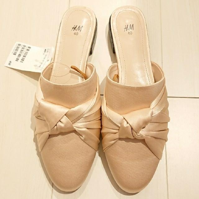 H&M(エイチアンドエム)のH&M フラットシューズ 新品 レディースの靴/シューズ(バレエシューズ)の商品写真