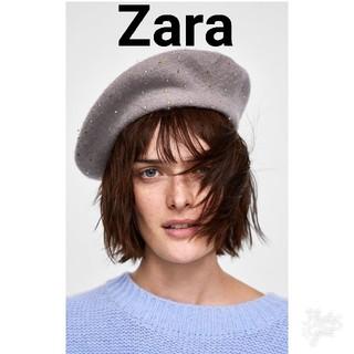 ザラ(ZARA)のZARAウールベレー(ハンチング/ベレー帽)