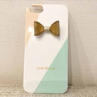 LOVE BY e.m. iPhoneケース