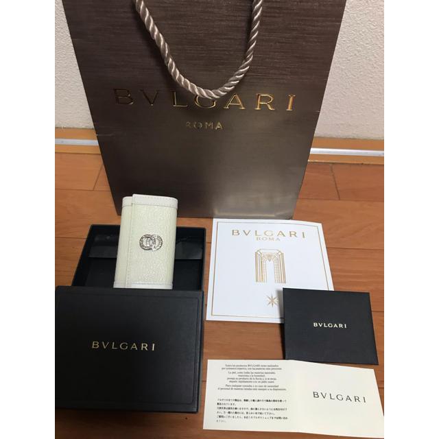 BVLGARI(ブルガリ)の新品未使用ブルガリ  キーケース BVLGARI プレゼントにも レディースのファッション小物(キーケース)の商品写真