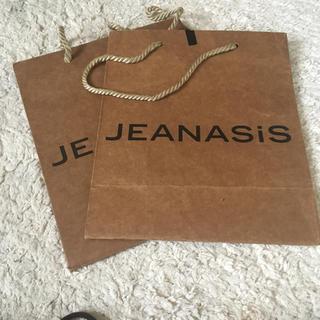 ジーナシス(JEANASIS)のJEANASIS ショップ袋(ショップ袋)