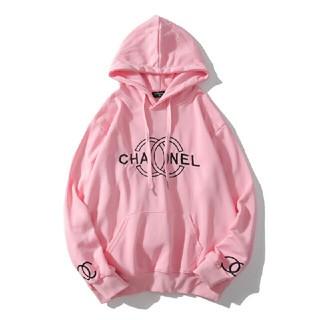 シャネル(CHANEL)の新品CHANEL シャネル パーカー ピンク かわいい系 (パーカー)