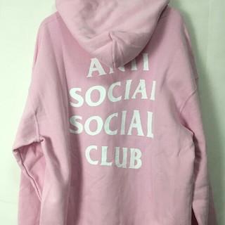 アンチ(ANTI)のsize M ピンク ANTI SOCIAL SOCIAL CLUBパーカー(パーカー)