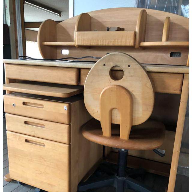 学習机 インテリア/住まい/日用品の机/テーブル(学習机)の商品写真
