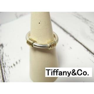 ティファニー(Tiffany & Co.)の★本物正規美品Tiffany&Co. ティファニー K18x925ピンキーリング(リング(指輪))