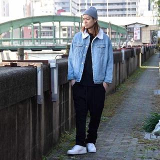 フィアオブゴッド(FEAR OF GOD)のCRAY TOKYO ボアライナー デニム ジャケット(Gジャン/デニムジャケット)