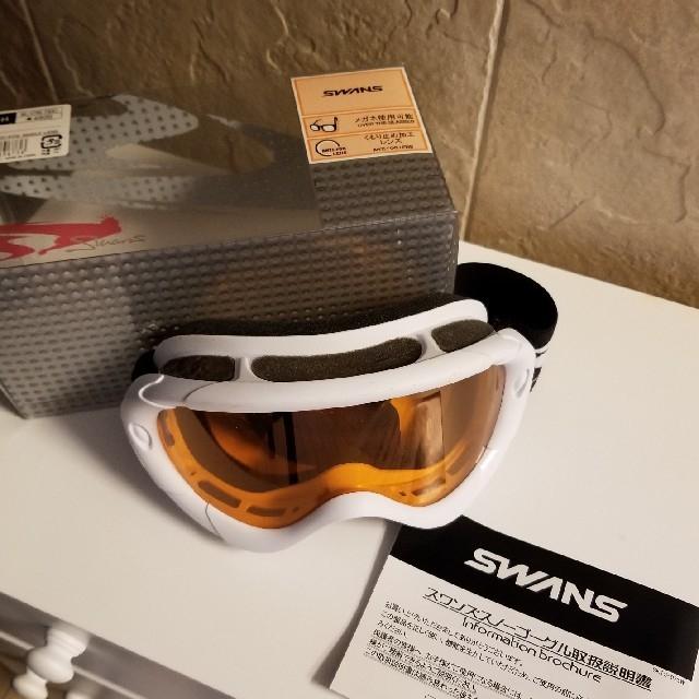 SWANS(スワンズ)のスワンズ スノーゴーグル 4800円+税にて購入 新品未使用 スポーツ/アウトドアのスノーボード(ウエア/装備)の商品写真
