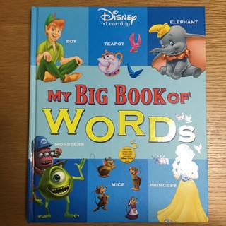 ディズニー(Disney)の値下げ!MY BIG BOOK OF WORDS ディズニー英語システム DWE(洋書)