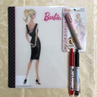 バービー(Barbie)のバービー  文房具セット(その他)