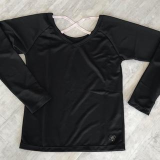 アシックス(asics)の長袖エクササイズウェア トップス 新品未使用(Tシャツ(長袖/七分))
