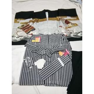 七五三羽織袴 5歳男の子(和服/着物)