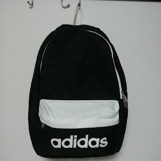 アディダス(adidas)のアディダス/黒×白/リュック(バッグパック/リュック)