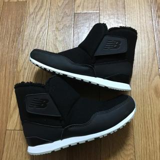 fcb6e3699731d ニューバランス(New Balance)のニューバランス ブーツ 23 黒 美品 N B(ブーツ)