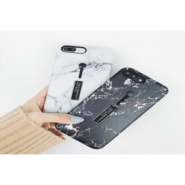 かわいい iphone7 ケース メンズ | 送料込み  リングベルト大理石 ユニセックス iPhoneケース の通販 by ココアショップ|ラクマ