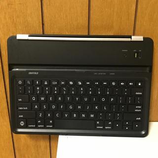 バッファロー(Buffalo)のiBUFFALO iPad キーボード ケース一体型 ブラック(その他)