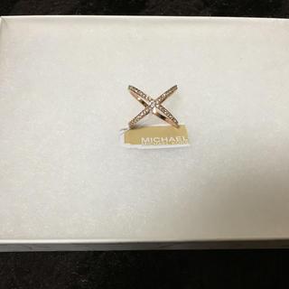 マイケルコース(Michael Kors)のMichael Kors クロスリング(リング(指輪))