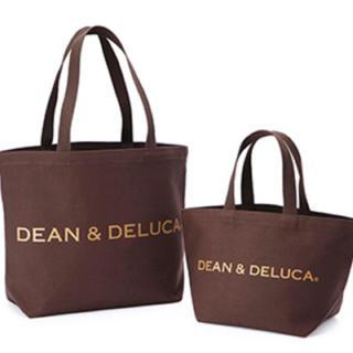 ディーンアンドデルーカ(DEAN & DELUCA)のDEAN & DELUCA Lサイズトートバッグ 2016 ブラウン(トートバッグ)