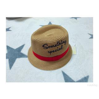 ニシマツヤ(西松屋)の帽子 麦わら帽子 ハット(麦わら帽子/ストローハット)