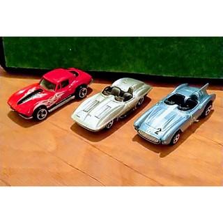 シボレー(Chevrolet)のホットウィール シボレー コルベット スティングレー 3台(ミニカー)