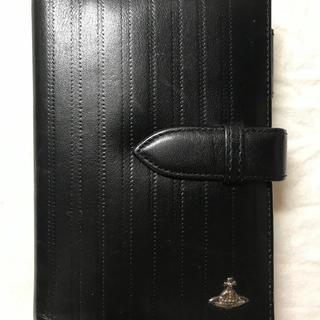 ヴィヴィアンウエストウッド(Vivienne Westwood)のヴィヴィアンウエストウッド システム手帳 レザー ブラック 925シルバー(その他)