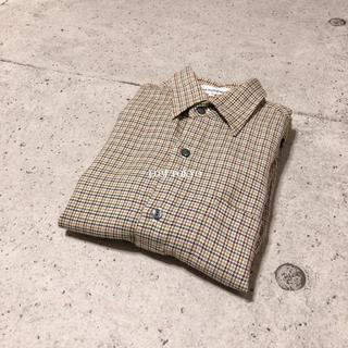[used]multicolor plaid wool shirt.(シャツ)