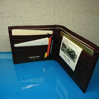 ゴールドファイル(GOLD PFEIL)の【新品】GOLD PFEIL 二つ折り財布 ゴールドファイル(財布)