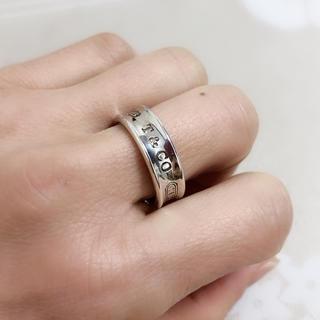 ティファニー(Tiffany & Co.)のN008 ティファニー シルバー SV925 リング 指輪 1837 17号(リング(指輪))