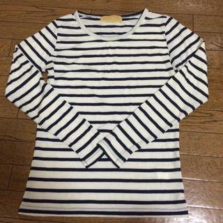デンドロビウム(DENDROBIUM)のdendrobium ボーダー シャツ♡(Tシャツ(半袖/袖なし))