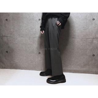 [used]gray mode slacks.(スラックス)
