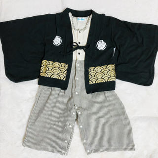 袴 ロンパース サイズ90(和服/着物)