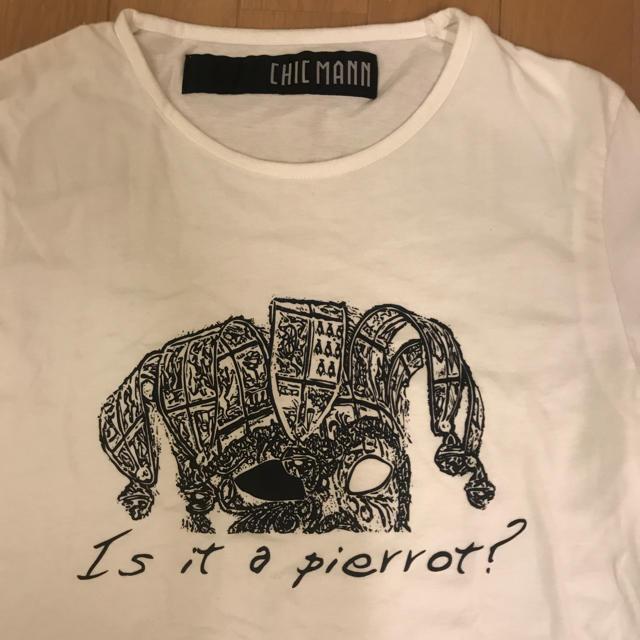 CHIC MANN(チックマン)のTシャツ メンズのトップス(Tシャツ/カットソー(半袖/袖なし))の商品写真