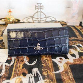 ヴィヴィアンウエストウッド(Vivienne Westwood)の新品 ヴィヴィアン 長財布 ブルー(財布)