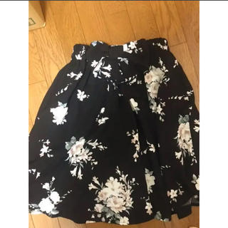 シマムラ(しまむら)の花柄スカート&カーディガン セット売り(セット/コーデ)