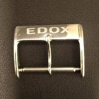 エドックス(EDOX)の【EDOX エドックス】尾錠 20㎜(レザーベルト)