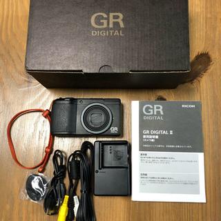 リコー(RICOH)のリコー GR DIGITAL Ⅱ(コンパクトデジタルカメラ)