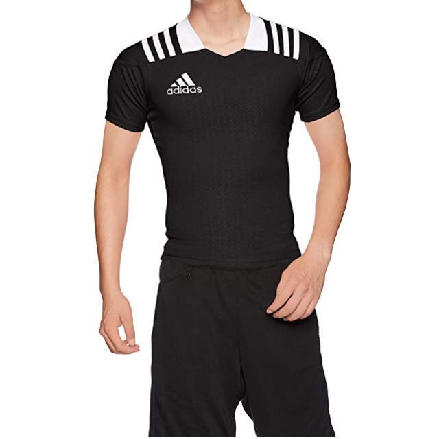 adidas(アディダス)の[アディダス] ラグビーウェア 3ストライプ チームジャージー XS スポーツ/アウトドアのスポーツ/アウトドア その他(ラグビー)の商品写真
