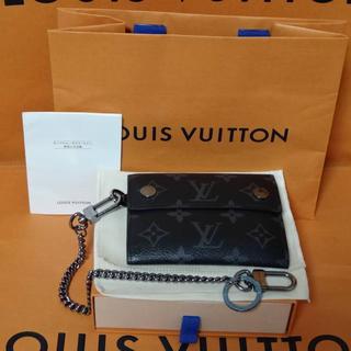 ルイヴィトン(LOUIS VUITTON)のルイ ヴィトン モノグラム エクリプス チェーン ウォレット M63510 本物(折り財布)
