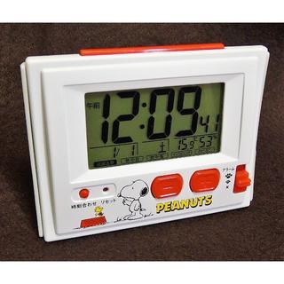 スヌーピー(SNOOPY)のスヌーピー 目覚まし・電波時計( 温度・湿度計付き) リズム時計(その他)