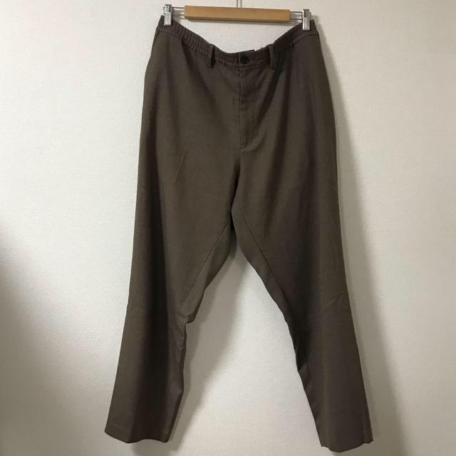 GU(ジーユー)の完売品 GU チェックイージーパンツ 2点セット メンズのパンツ(スラックス)の商品写真
