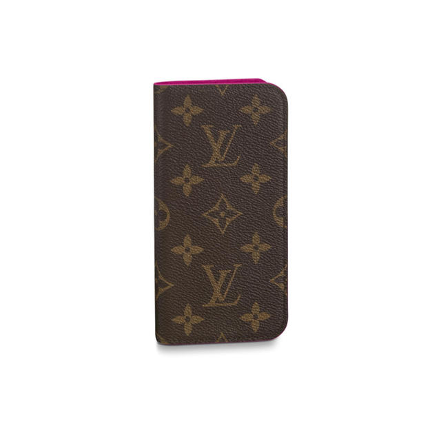 LOUIS VUITTON - LOUIS VUITTON iPhone XS ケース 手帳型の通販