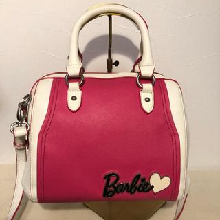 バービー(Barbie)のバービー 2WAYショルダーバッグ ストラップを外すとボストンバッグに♡(ボストンバッグ)