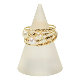 ジュペレ 18Kツーカラーゴールド マルチカラー リング          (リング(指輪))