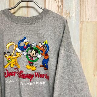 ディズニー(Disney)の【送料無料】【フォロー割】アメリカ古着 ディズニー Disney ミッキー(スウェット)