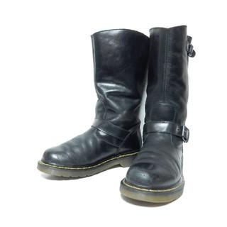 ドクターマーチン(Dr.Martens)の美品!【定価¥25920】ドクターマーチンロングエンジニアブーツUK5(ブーツ)