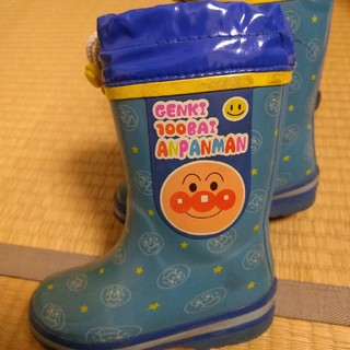 アンパンマン(アンパンマン)のキララ様専用。アンパンマン長靴✰青 16cm(長靴/レインシューズ)