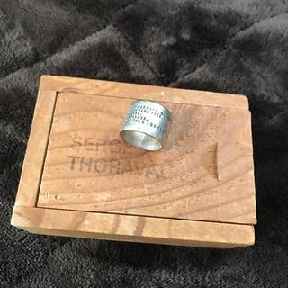 アッシュペーフランス(H.P.FRANCE)のserge thoraval 接吻 リング(リング(指輪))